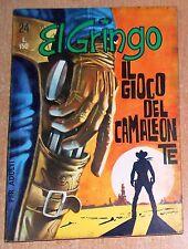 ED. CORNO  SERIE  EL GRINGO  N° 24  1965  ORIGINALE  !!!!!