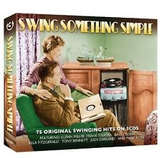 SWING SOMETHING SIMPLE (Bing Crosby, Doris Day, Glenn Miller uva.) 3 CD NEU