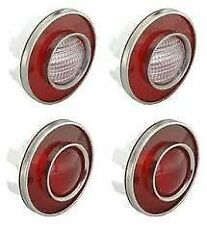 1975 - 1979 Corvette C3 Tail Lights w/ Backup Lights GM Restoration Set of 4
