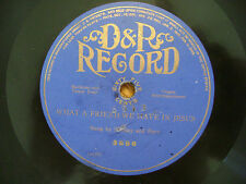 COLUMBIA D & R 78 RECORD 3556/ STANLEY & HENRY BURR /ANTHONY & HARRISON/  VG+