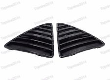 1Pair Gloss Black Front Bumper Cover Grilles Inserts For Ford Focus 2012-2014