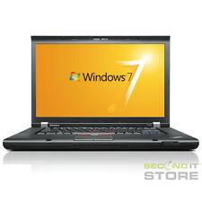 Lenovo ThinkPad T510 Notebook Intel Core i7 2x 2,67 GHz 4 GB RAM 512 GB SSD Win7