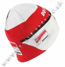 Official Ducati Corse MotoGP beanie hat racing warm wool knitted woolly gift