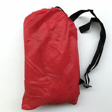 Portable Inflatable RED Air Bed Sofa Lazy Bag Folding Sleeping  Outdoor Camping