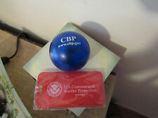 CBP:U.S.CUSTOMS AND BORDER PROTECTION LUGGAGE TAG & PAPERCLIP BALL/PROMO
