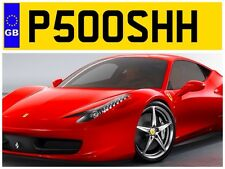 P500 SHH THE POSH FOOTBALL CLUB SNOB NUMBER PLATE LOADED RICH MONEY POSHES CAR