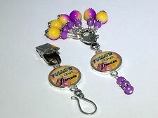 Follow Your Dream Knitting Pin & Stitch Markers