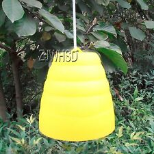 Yellow Jacket Beehive Shaped Wasp Hornet Fly Insect Trap Bee Attract Catcher
