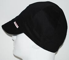 NWT Comeaux Caps Welders Welding hats solid black One Size Fits Most Reversible