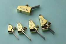 Violin making tools, 5 pcs various size mini brass planes woodworking planes
