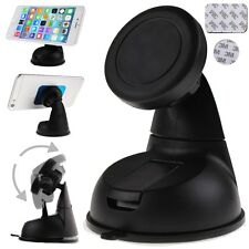 Universal 360° Car Mount Ball Sticky Magnetic Stand Holder #a For Cell Phone GPS