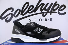 NEW BALANCE 1600 SOUND STAGE BLACK WHITE GREY CM1600GT SZ 10