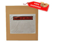 "5000 Packing List Enclosed Envelope Self-Adhesive Panel Face 7.5""x5.5"" Top Load"