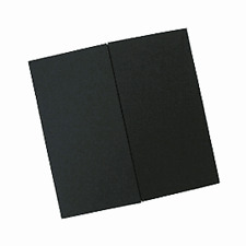 50 Large black GATEFOLD Square cards & Envelopes(150mm)