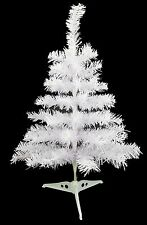 24 Inch White Table Tree Christmas Tree - Home & Office Decorations (AT24B)