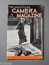 R&L Vintage Mag, The Miniature Camera October 1952, Wasp Triumph Enlarger/Stage