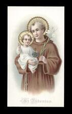 antico santino cromo-holy card S.ANTONIO DA PADOVA