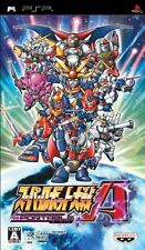 USED Super Robot Taisen A Portable japan import Sony PSP