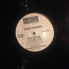 JOSE CHEENA • Fly Tetas • Vinile 12 Mix • 1988 BASSNENT