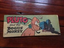 Wheaties Giveaway A-8 Pluto And The Bogus Money 1950