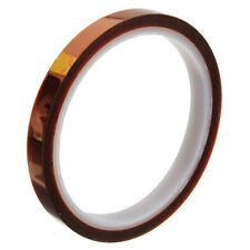 1Roll 10mm*33M 100ft High Temperature Heat Resistant Polyimide Kapton Tape