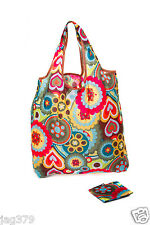 Psychedelic FOLD UP Shopping Bag Eco Reusable Chic POCKET Beach Tote VERY LOVELY