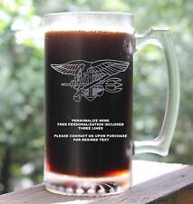 Personalized US Navy SEAL Beer Mug Custom Gift, 27oz, DEVGRU, SEAL Team, BUDS