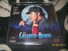 The Crucifer of Blood Laserdisc LD Charlton Heston Sherlock Holmes Free Ship $30