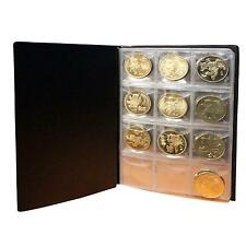 World Coin Pocket Album Book Holder Collection Storage for Badges Caps Tokens