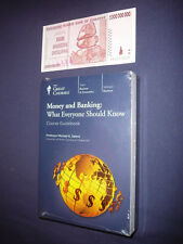 Teaching Co Great Courses   DVDs      MONEY and BANKING      new sealed  + BONUS