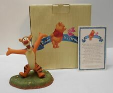 Winnie the Pooh and Friends Tigger Figurine Porcelain Keepsake with Original Box
