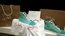 TOTAL BARGAIN CHRISTIAN LOUBOUTIN MINT GREEN SPIKE TOE, WORN 2 HOURS 100%GENUINE