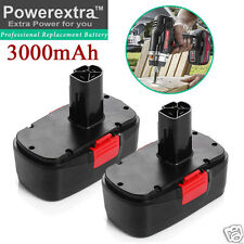 2 Pack 3.0AH 19.2V C3 Battery for Craftsman 11375 11376 130279005 Cordless Drill