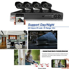 8CH 960H HDMI Surveillance DVR 800TVL Outdoor CCTV Home Security Camera System