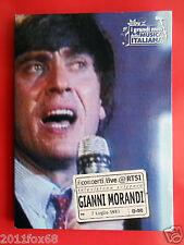 cds dvds gianni morandi rtsi televisione svizzera concerti live 7 luglio 1983 gq