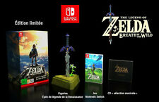Legend of Zelda : Breath of the wild collector sur Nintendo Switch