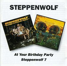 At Your Birthday Party/Steppenwolf 7 - Steppenwolf (2002, CD NEU)2 DISC SET