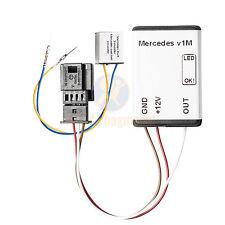 Sitzbelegungsmatte Mercedes C W203 2006-2007 Sitzerkennung SRS Sensor Airbag