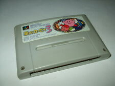 Hoshi no Kirby's Dream land 3 Nintendo Super Famicom SFC 1997 Japan import