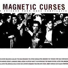 """MAGNETIC CURSES"" Chicago Punk Rock Compilation (CD 2000) Thick 26-Tracks **VG**"
