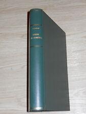 LEZIONI DI GEOMETRIA CARMELO LONGO POLITECNICO DI TORINO 1963-64