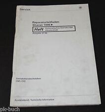 Werkstatthandbuch VW Sharan I Syncro Automatisches Getriebe 099 Allradantrieb
