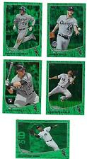 2013 Topps Update Emerald Dayan Viciedo Chicago White Sox US 57
