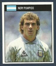 ORBIS 1990 WORLD CUP COLLECTION-#001-ARGENTINA-NERY PUMPIDO