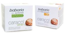 2 Units BABARIA Anti-Ageing Gel Face Cream + 24h Moisturising with Snail Extract