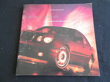 1997 Mercedes E420 Brochure E 420 V8 & W210 E 420 AMG Sport Big Sales Catalog