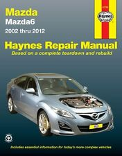 HAYNES WORKSHOP SERVICE REPAIR MANUAL BOOK MAZDA 6 2002-2012