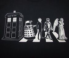 DR. WHO - DALEK/SILENT/CYBERMAN/WEEPING ANGEL - Men's size S - Graphic T-Shirt