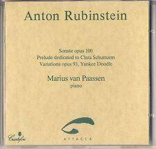 Anton Rubinstein - Marius Van Paassen: Sonate Prelude Variations, Op.93 Like New
