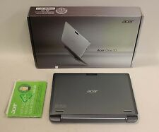 "ACER S1002 Touchscreen 2-in1 Laptop Atom Z3735F 1.33Ghz 2GB 32GB SD 10.1"" WIN 10"